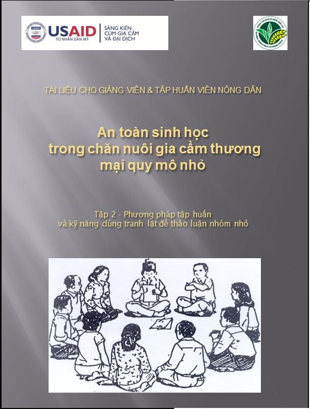 Tập 2 - Phương pháp tập huấn và kỹ năng dùng tranh lật để thảo luận nhóm nhỏ