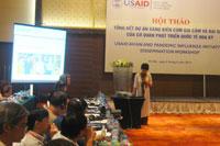 USAID tích cực hỗ trợ Việt Nam kiểm soát cúm gia cầm
