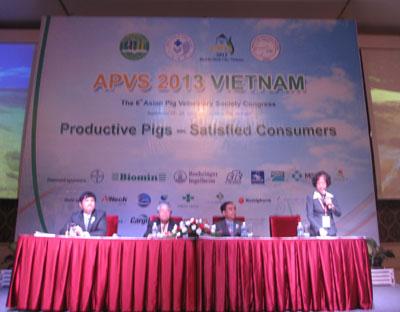 Hội nghị heo châu Á lần thứ 6 - 2013 (APVS - 2013) tại Việt Nam