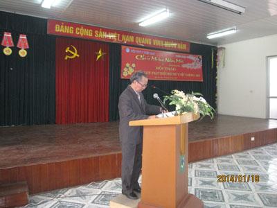 Chi hội thú y văn phòng tổ chức hội thảo và chúc tết Giáp Ngọ năm 2014