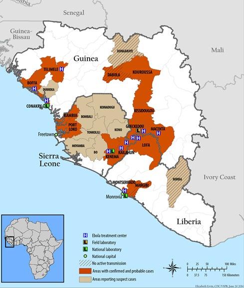 10 điều cần biết về sự nguy hiểm của virus Ebola