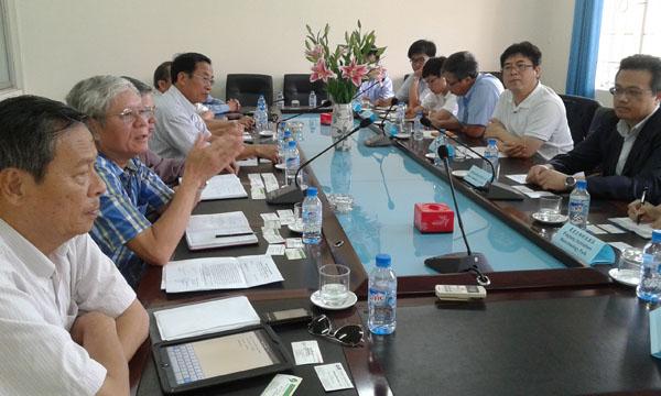 Hội Thú y Việt Nam làm việc với Trung tâm phát triển kỹ thuật sinh vật Đài Loan.