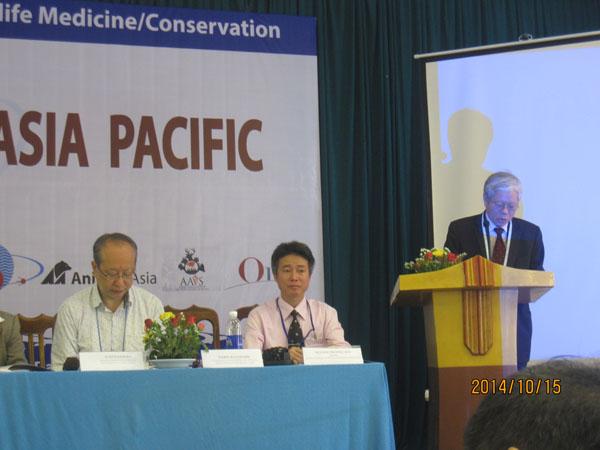 Hội thảo lần thứ 7 về bảo tồn và bảo vệ sức khỏe ở thú và động vật hoang dã tổ chức tại Việt Nam