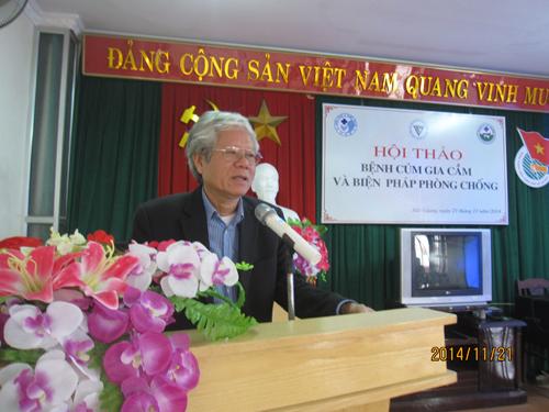Tổ chức Hội thảo phổ biến kiến thức của Hội Thú y Việt Nam năm 2014