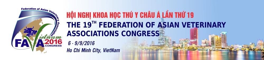 Thông báo Hội nghị khoa học thú y châu Á lần thứ 19 (FAVA)