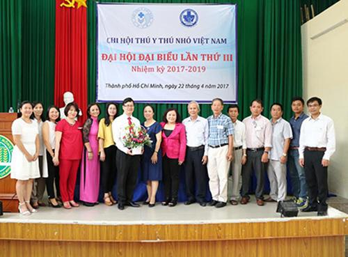 Thông báo kết quả đại hội đại biểu chi hội thú y nhỏ Việt Nam nhiệm kỳ II (2017-2019)