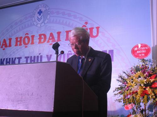 Báo cáo Đại hội đại biểu toàn quốc Hội Thú y Việt Nam lần thứ VI, nhiệm kỳ 2018-2023