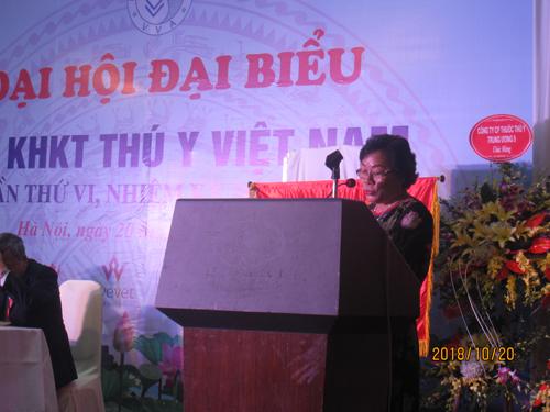 Danh sách đơn vị và cá nhân tài trợ cho Đại hội đại biểu Hội Thú y Việt Nam nhiệm kỳ 2018-2023