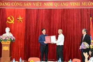 Ông Bạch Đức Lữu giữ chức Phó Cục trưởng Cục Thú y
