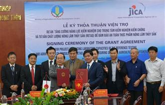 JICA viện trợ 10,9 triệu USD nâng cao an toàn thực phẩm