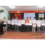 Nguyễn Công Dân - UV thường vụ hội phát chứng chỉ cho học viên