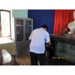 Hội Thú y kiểm tra tủ tài liệu Trạm thú y Vĩnh Linh
