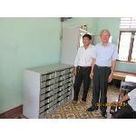Kiểm tra hệ thống tủ được dự án cấp