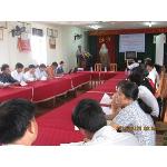 Q. Chủ tịch Hội Thú y VN - GS.TS Đậu Ngọc Hào khai mac tập huấn