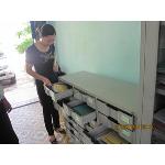 Hội Thú y kiểm tra tủ thư báo huyện Triệu Phong
