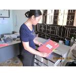 Hội thú y kiểm tra tủ thư báo Trạm thú y huyện Cam Lộ