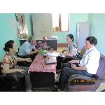 Hội thú y làm việc với Trạm Thú y Vĩnh Linh