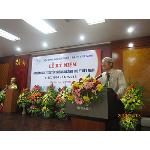 GS.TS Đậu Ngọc Hào - Q. Chủ tịch Hội Thú y Việt Nam đọc diễn văn kỷ niệm